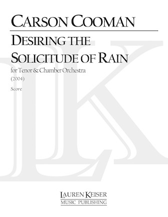 Product Cover for Desiring the Solicitude of Rain