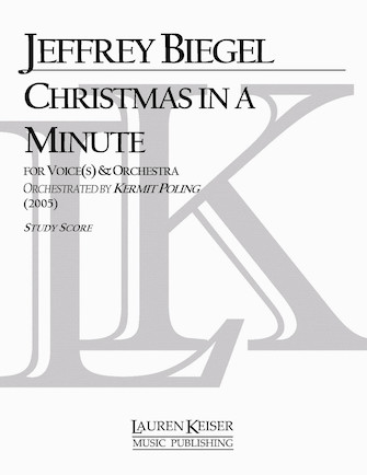Product Cover for Christmas in a Minute