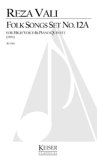 Product Cover for Folk Songs, Set No. 12A