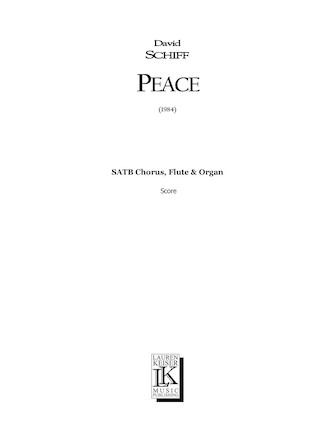 Product Cover for Peace