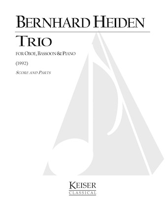 Product Cover for Trio for Oboe, Bassoon and Piano