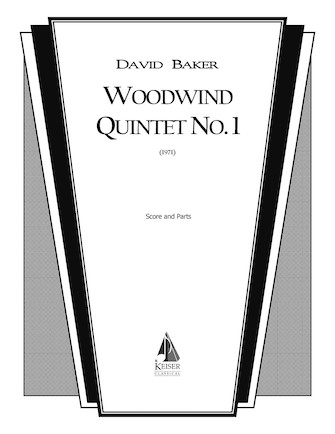 Product Cover for Woodwind Quintet No. 1