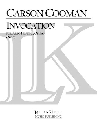 Product Cover for Invocation for Alto Flute and Organ