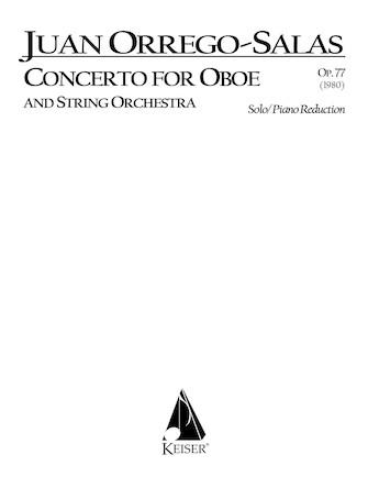 Product Cover for Concerto for Oboe and String Orchestra, Op. 77
