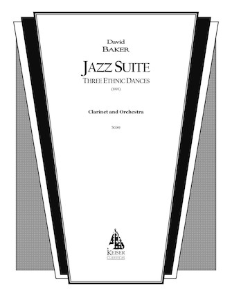 Product Cover for Jazz Suite for Clarinet and Orchestra: Three Ethnic Dances