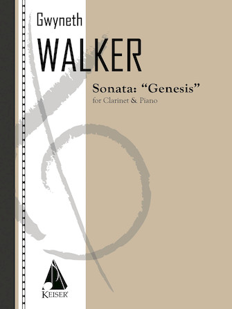 Product Cover for Sonata for Clarinet and Piano: Genesis