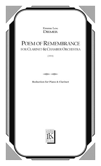 Product Cover for Poem of Remembrance