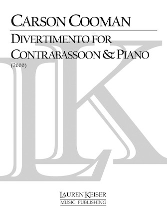Product Cover for Divertimento for Contrabassoon and Piano