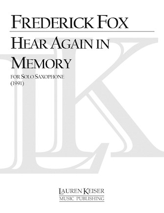 Product Cover for Hear Again in Memory