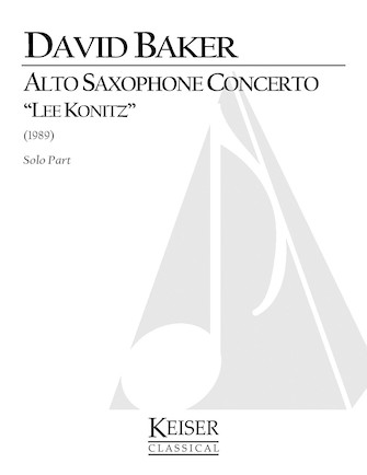 Product Cover for Alto Saxophone Concerto