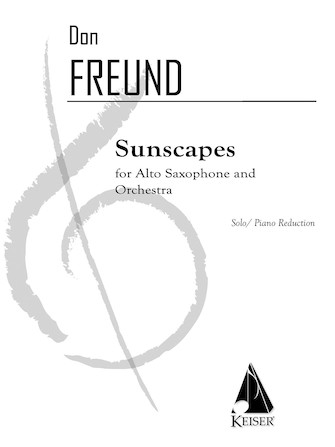 Product Cover for Sunscapes (Piano Reduction)