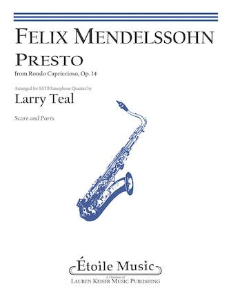 Product Cover for Presto from Rondo Capriccioso, Op. 14