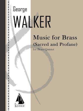 Product Cover for Music for Brass (Sacred and Profane)