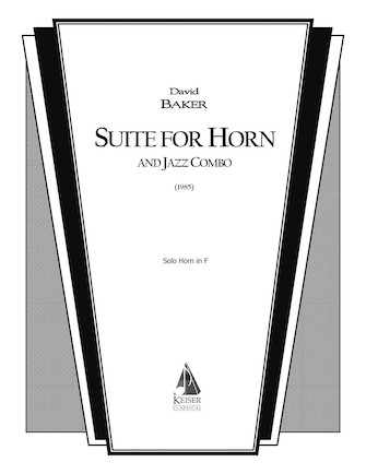 Product Cover for Suite for Horn and Jazz Combo