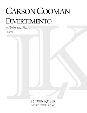 Product Cover for Divertimento for Tuba and Piano