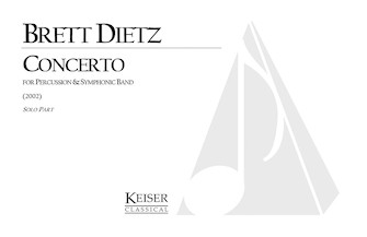 Product Cover for Concerto for Percussion and Symphonic Band