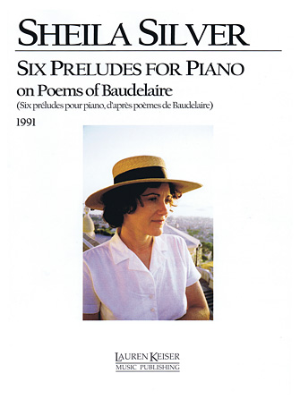 Product Cover for Sheila Silver – Six Preludes for Piano