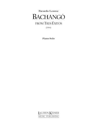 Product Cover for Bachango: from Tres Exitos