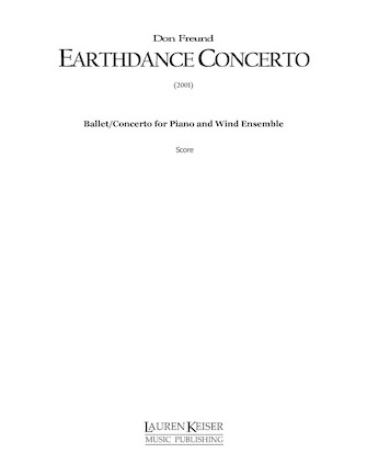 Product Cover for Earthdance Concerto