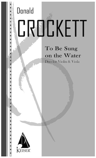 Product Cover for To Be Sung on the Water