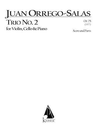 Product Cover for Trio No. 2, Op. 75