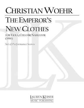 Product Cover for The Emperor's New Clothes for Viola and Cello with Narrator