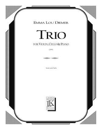 Product Cover for Trio for Piano, Violin, and Cello
