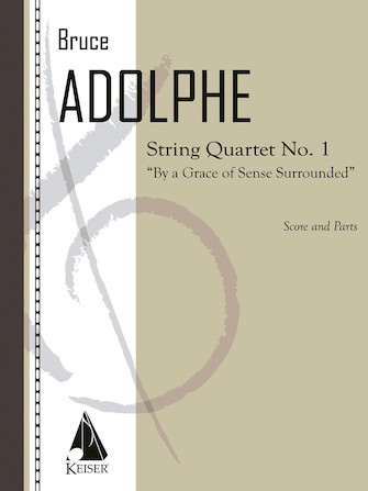 Product Cover for String Quartet No. 1: By a Grace of Sense Surrounded
