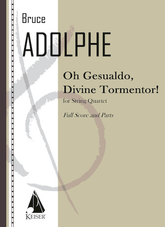 Product Cover for Oh Gesualdo, Divine Tormentor!