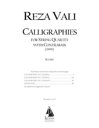 Product Cover for Calligraphies
