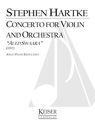 Product Cover for Concerto for Violin and Orchestra: Auld Swaara (Piano Reduction)