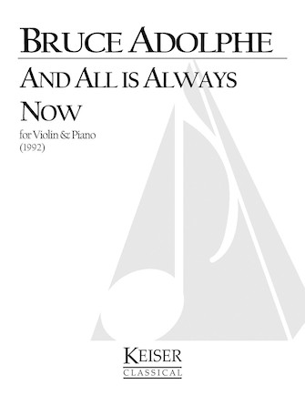 Product Cover for And All is Always Now