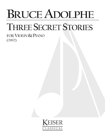 Product Cover for Three Secret Stories