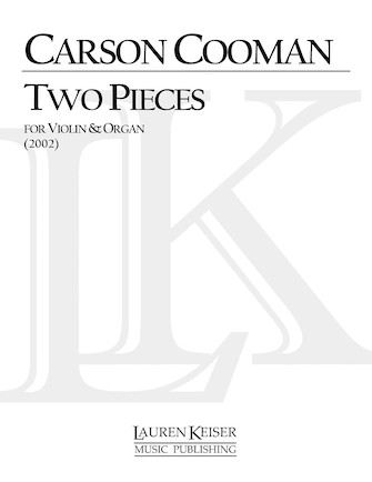 Product Cover for Two Pieces for Violin and Organ