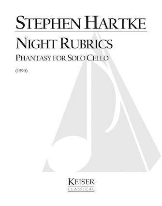 Product Cover for Night Rubrics: Phantasy for Solo Cello