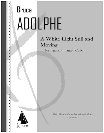 Product Cover for A White Light Still and Moving