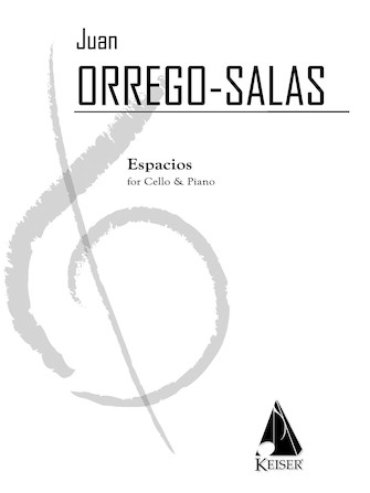 Product Cover for Espacios, Op. 115: A Rhapsody for Cello and Piano