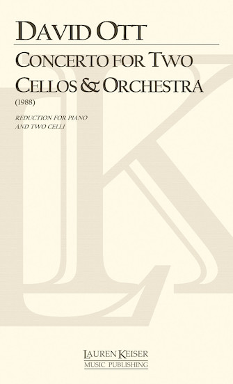 Product Cover for Concerto for Two Cellos and Orchestra