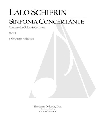 Product Cover for Sinfonia Concertante for Guitar and Orchestra (Piano Reduction)