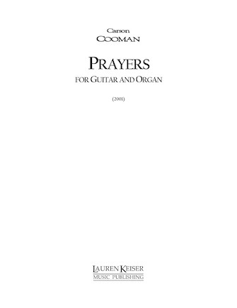 Product Cover for Prayers