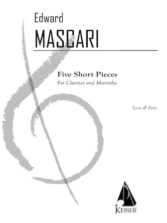 Product Cover for 5 Short Pieces for Clarinet and Marimba