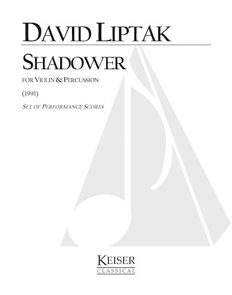 Product Cover for Shadower for Violin and Percussion