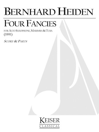 Product Cover for 4 Fancies for Alto Sax, Marimba and Tuba
