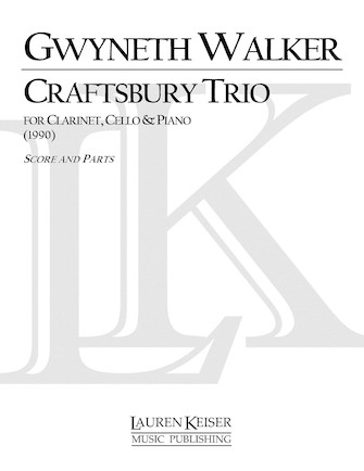 Product Cover for Craftsbury Trio for Clarinet, Cello and Piano