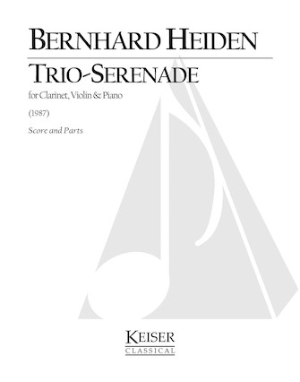 Product Cover for Trio-Serenade for Clarinet, Violin and Piano