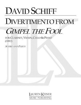 Product Cover for Divertimento from Gimpel the Fool