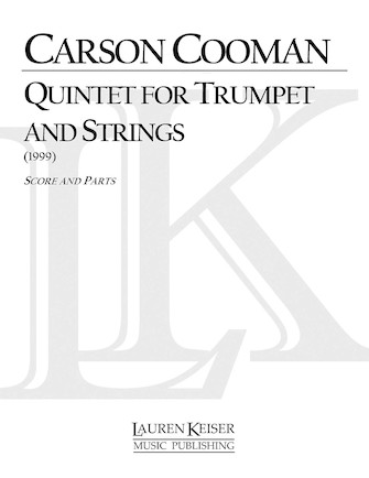 Product Cover for Quintet for Trumpet and Strings