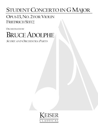 Product Cover for Student Concerto No. 2, Op. 13 in G Major