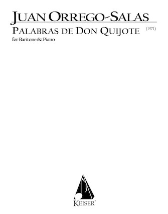 Product Cover for Palabras de Don Quijote, Op. 66