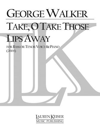 Product Cover for Take, O Take Those Lips Away